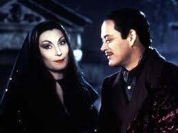 gomez and morticia addams make for a great diy costume option