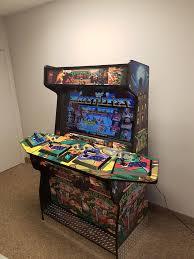 Ninja Turtles Arcade Cabinet Man Cave Arcade