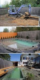 This will usually be your starting point and the rest of the ground will be brought to here, but you can also lower some ground if that makes more sense for your project. 15 Above Ground Pool Deck Ideas On A Budget By Diymakes Medium