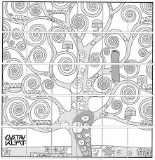 Small Picture Tree Of Life By Gustav Klimt Coloring Page At Coloring Pages glumme