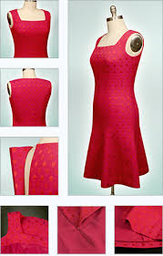 Dress Patterns Free Online Interesting Panel Dress Sewing With Princess Seams Flared Skirt Facing Lining