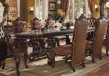 Acme Versailles 61100-set-5 Cherry Dining Room Set Traditional Furniture Sets | eBay
