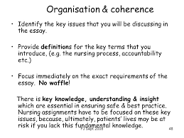 undergrad stage bsc th sept essential academic ppt organisation coherence