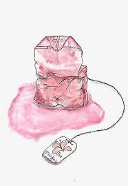 pink tea bag clip art. Delighful Clip Pink Tea Bags Tea Bag Pink Watercolor PNG Image And Clipart With Pink Bag Clip Art W