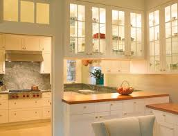 Decorative Glass For Kitchen Cabinets With View In Gallery Kitchen Cabinets  With Glass Doors Let In Light