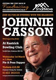 news ploughcroft eco roofing insulation fundraising night calderdale smortmove johnnie casson at rastrick bowling club on 1st 2017