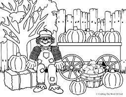 Small Picture Free Printable Coloring Pages Of Scarecrows Coloring Home