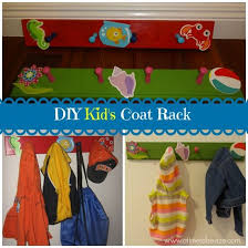 Diy Kids Coat Rack DIY Kid's Coat Rack Kidsroom Coat racks and Kids s 15