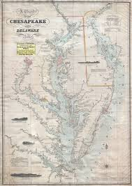 Chesapeake Bay Chart Book A Chart Of The Chesapeake And Delaware Bays Geographicus