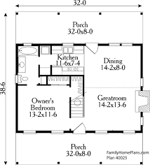 >small house floor plans small country house plans house plans  small country house floor plan 40025 by family home plans