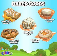 Baked Goods Gallery Wkn Webkinz Newz