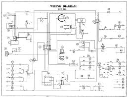 mga alternator and negative earth conversion extract from wiring diagram