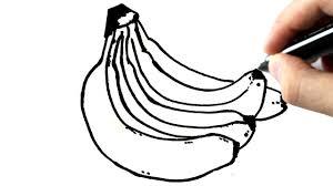 Comment Dessiner Des Bananes Youtube