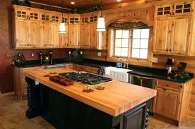 rustic kitchen island country ideas with aged wooden design and maple cabinet west elm for