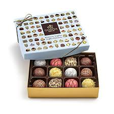 amazon iva chocolatier patisserie chocolate truffle gift box orted truffle desserts great for gifting 12 count grocery gourmet food
