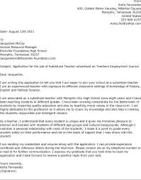 What To Include In A Teaching Cover Letter Cover Letter For