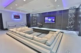 modern home theater. modern home theater with bubble glass ceiling lighting pendant lamp light, super white quartz, r