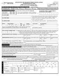 Dmv Application Form Gorgeous Form MV44EDL Application For Enhanced Permit Driver License Or
