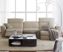 Alessandro 6 Piece Leather Sectional with Chaise & 2 Power Motion