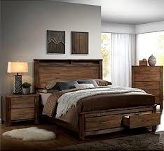 rustic bedroom furniture sets. Furniture Of America Nangetti Rustic Bedroom Set In Oak Review By Www.clickabledesgns. Sets