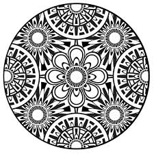 Small Picture Mandala Coloring Pages Pdf at Coloring Book Online