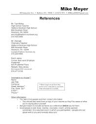 Resume Reference Page Template Resume Reference Page Template For List Sample Free 98