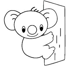 Small Picture Cute Koala Bear Coloring Page Color Luna
