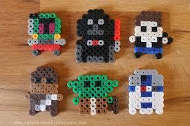 Star Wars Perler Bead Patterns Delectable Star Wars Perler Bead Minis Dragonfly Designs