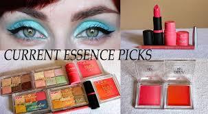 cur favourite essence makeup picks