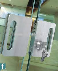 marvelous glass door locks stainless steel mortice locks with lever for glass door