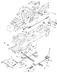 lawn boy 53084, gt18h garden tractor, 1988 (sn 800000001 899999999 Garage Wiring-Diagram at Lawnboy Re12e Key Start Wiring Diagram
