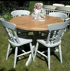 diy shabby chic dining table and chairs. terrific round shabby chic dining table and chairs 77 for your room furniture with diy i