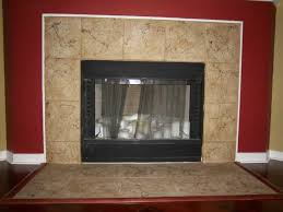 other design ealing fireplace using red living room wall