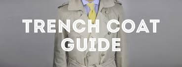 Trench Coat Guide Gentlemans Gazette