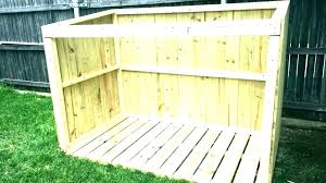 outdoor trash can storage ideas outdoor garbage bin storage wooden can modern trash home depot sheds