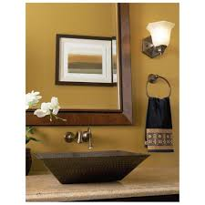 Bathroom. Vessel Sink, Add A Classy Touch To The Bathroom ...