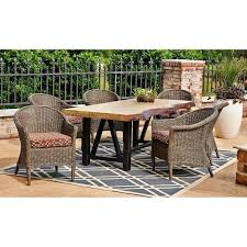 sams club dining set members mark 7 piece dining set d sams club outdoor dining table