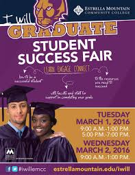 student success fair inspires i will graduate 1 2 i will graduate poster wall student success fair flyer