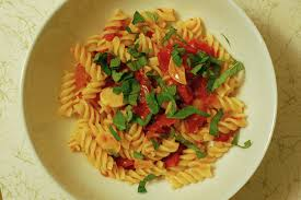 Image result for Pasta with Roasted Tomato Confit and Garlic.photos