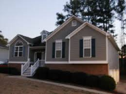 Small Picture I LOVE these house colors red brick gray and cream hardie siding