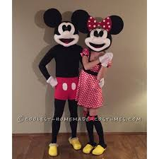vintage minnie and mickey costumes