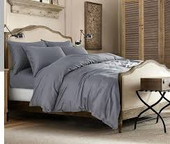 light grey gray 100 egyptian cotton bedding set king queen size sheet quilt duvet cover bed bedsheet bedspread luxury 4pcs 2016 in bedding sets from home