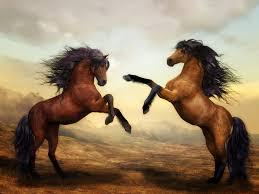 wild horses mustang wallpaper. Horses Wild Digital Art Image 1842 Licence Creative Commons In Mustang Wallpaper