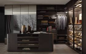 the picture depicts a walk in wardrobe from the walk in range by ars nova collection