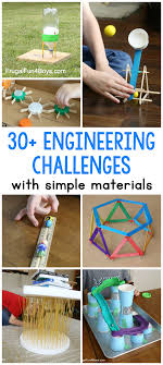 Simple Design Engineering Projects 30 Awesome Stem Challenges For Kids With Inexpensive Or