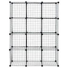 wire storage cubes organizer shelves grid wardrobe bookcase bed bath beyond target australia