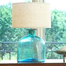 teal glass table lamp best blue glass lights images on chandeliers pertaining to teal glass lamp teal glass table lamp uttermost blue
