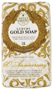 <b>Мыло</b> кусковое Nesti Dante <b>60th Anniversary</b> Luxury Gold 23K ...
