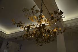 hilden diaz s forms in nature chandelier transforms rooms into