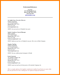 9 Reference List For Resume The Stuffedolive Restaurant